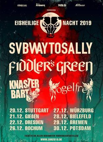 SUBWAY TO SALLY – Eisheilige Nächte 2019