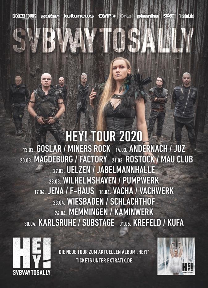 Subway To Sally – HEY! Tour 2020